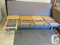 *solid wood stackable tables. * Length - 19 inches,