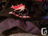 Group Canada hockey bag, brand brand-new health