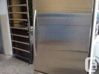 STAINLESS STEEL BOTTOM FRIDGE FREEZER FRIDGES MSRP