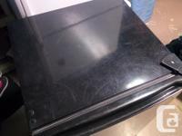 - 4.3 cu ft GE mini fridge - black/stainless finish