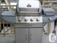 Stainless Steel BBQ bought from Canadian Super Store.