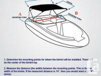 Boat Bimini Top Fiberglass / inflatable /