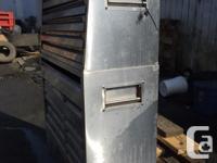 Stainless steel Tool box. Needs new drawer sliders.