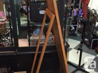 We have a full length stand alone mirror with easel
