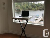 Adjustable-height stand up desk for sale. Sturdy yet