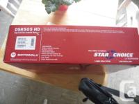 Motorola DSR505 HD Receiver. In the Box, never been