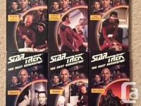 complète star trek vidéo on vhs new make and offer real