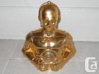 Hey there, I've got a Star Wars C3P0 Cookie Jar from