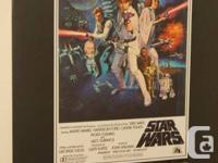 Large vertical Star Wars poster for sell. The poster is