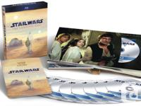 JUST IN!! STAR WARS COMPLETE SAGA!!! All six films of