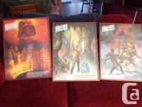 STAR WARS Collectible, this is the three poster set for