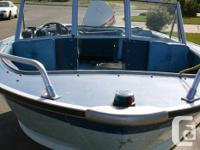 Starcraft USU 16' Boat, Electric motor as well as