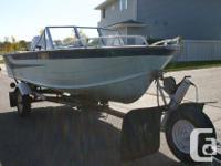 Starcraft USU16 16' Boat, Motor and Trailer Starcraft