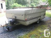 starcraft tent trailer sleeps 5 propane 3 burner stove