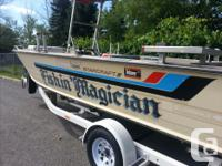 1990 Starcraft 21 foot mariner center console with