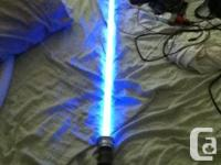 It a lightsaber from starwars FORCE FX BY Hasbro