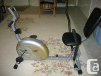 Free Spirit 802 exercise bike. Never used, like brand