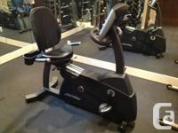 Life Fitness R3 Lifecycle Recumbent with Advanced