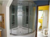 . Gorgeous Wasauna Steam Shower & Jacuzzi system!