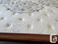 KING Size Mattress and box spring in excellent