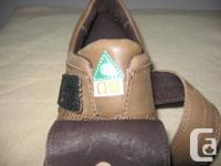 Steel toe,  Brand New, pure leather, Hush Puppies ,
