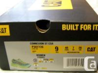 Cat Steel Toed (Ergolite) Women's Shoes for sale. Worn