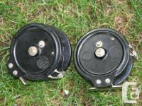Made in Australia Bakelite trolling reels. 5 inch. Keep