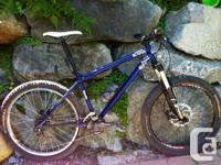 Original proprietor of this terrific steel trail bike