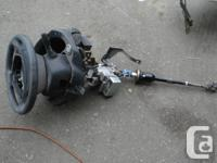 Complete steering column 2008 Infiniti G37 Coupe, $100,