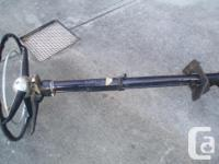 MUST SELL. Steering column from a 1940 'Fluid Drive'