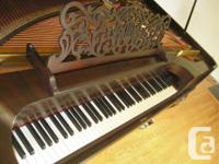 This traditional usable piano has actually been