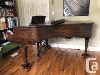 Steinway Grand Piano, model L in excellent condition,