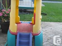 STEP 2 CLIMBER:  Toddler's climber and slide; captain's