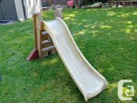 Step 2 brand kids slide in great condition. Must