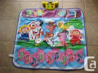 StepNLearn play mat provides fun activities. The mat is