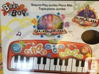 Step-To-Play Jumbo Piano Mat Piano play mat stretches