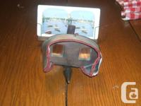 Stereoscope viewer and more than 150 stereoview