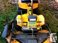 Stiga Articulating Lawn Tractor 48inch Deck Triple