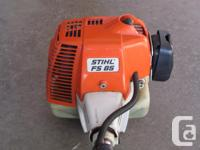 STIHL model FS 85 trimmer with attachment for small
