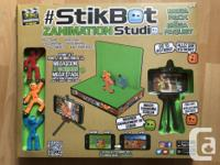This kit has all the things needed to do stop-motion