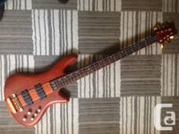 Up for sale, an immaculate, hardly played Shecter