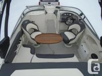 All Standard Features PLUS: Mercruiser 4.5 MPI 250 hp
