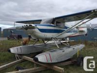 Stinson floatplane 3667 tt airframe 903 hrs engine s/n