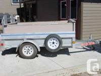 Stirling galvanized 4' by 7' utility trailer with tons