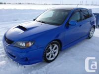 Make Subaru Model Impreza WRX Year 2010 Colour Blue