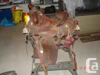 Heavy duty western stock saddle made by Eamor Saddle