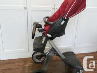 Excellent condition Stokke Xplory Stroller and Carry