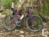 My treasured purple Surly Troll road bike was stolen