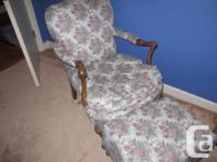 Great chair and also foot stool. In superb disorder. No