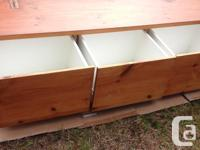 Large storage chest - Solid Pine Board construction